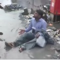Shivsena MLA Dilip Lande punishes contractor for water lagging