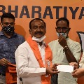 Eatala says new journey starts after joining BJP