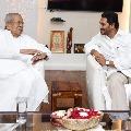 CM Jagan met governor in Rajbhavan
