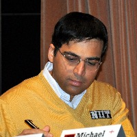 Zerodha startup founder Nikhil Kamat defeated Viswanathan Anand in a charity chess game