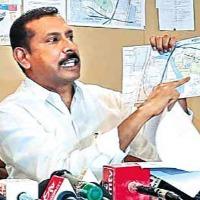 TDP leader Palla Srinivasa Rao Challenge YCP MP Vijayasai Reddy