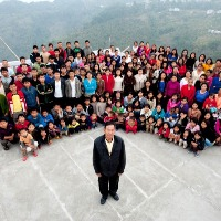 Man From Mizoram With Worlds Largest Family believed to alive