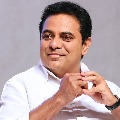 Minister KTR meeting at his home over election result