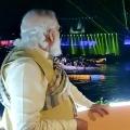 PM Modi enjoyed laser lighting and fast beat devotional music at Ganga River Ghats