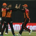 Hyderabad beats Delhi in IPl records first win