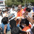 KCR is making false propaganda says Bandi Sanjay