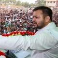Young politician Tejashwi Yadav breaks Lalu record in single day rallies