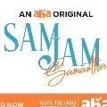 Samantha hosting for Sam Jam show