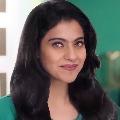 Bollywood actress Kajol in Tribhanga