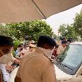 Haryana police halts Rajasthan police at Manesar resort