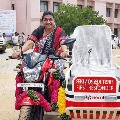 YCP MLA Roja inaugurates bike ambulances in Nagari constituency