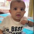 suresh raina shares his sons video