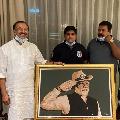 Dubai based Indian student makes stencil portrait of PM Modi as Republic Day gift
