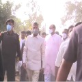 TDP Supremo Chandrababu Naidu arrives Ramatheertham