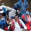 Uppal MLA Subhash Reddy faces anger of Ramanthapur women