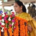 Home minister visits Velagapudi stone peltiong victims family