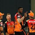 Sunrisers Hyderabad bowlers restricts Rajasthan batsmen