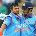 Suresh Raina says good bye for international cricket