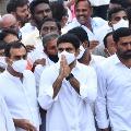 Nara Lokesh attends funerals of TDP leader Nandam Subbaiah