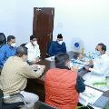 MIM MLAs met health minister Eatala Rajender