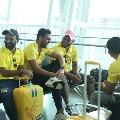 Reports says Chennai Super Kings members tested corona positive