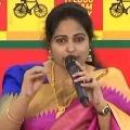 TDP leader Divya Vani slams AP Minister Kodali Nani