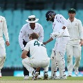 Mohammed Siraj gesture gets accolades after Australian bowler injured