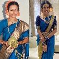 Niharika wears her mother engagement saree