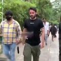 Hero Nithin arrives Tirumala by walk from Alipiri