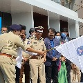 Tarak has attended as the Guest of Honour for the 2021 Cyberabad Traffic Police Annual Conference