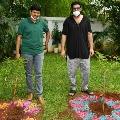 Tollywood hero Prabhas accepts Green India Challenge