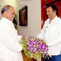 Mohanbabu pays tributes to YS Rajasekhar Reddy