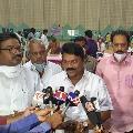 TRS conducts mega blood camp on KTR birthday