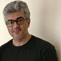 Tamil Hero Ajith helps an Idly vendor in Hyderabad during Valamai shooting