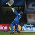 Delhi posted huge total against Rajasthan Royals