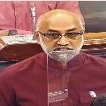 Galla Jaydev mentioned attacks on AP temples in Loksabha