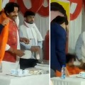Actor turned BJP MP Ravi Kishan FALLS OFF his chair on stage