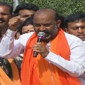 Within 2 hours our karyakarthas will demolish your Darussalam says Bandi Sanjay