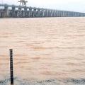 Dhavaleshwaram All Gates Open Amid Heavy Flood in Godavari