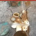 Gold coins found in Srisailam construction works