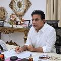 KTR reviews Warangal corporation development