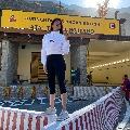 Pranitha says she traveled through historical Atal Tunnel