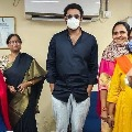 Hero Prabhas spotted at Khairatabad RTA Office