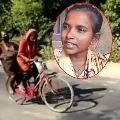 Cycle girl jyothi kumari appointed as brand ambassador