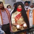 sanchaita gajapati goes paiditally festival