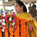AP Home minister Mekatoti Sucharitha press meet over Nandyala mass sucide case