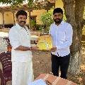 Telangana Telugu Yuvatha met Balakrishna on the sets of Boyapati movie