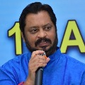 Former MP GV Harsha Kumar protests against attacks on Dalits