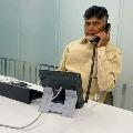 Chandrababu talks to GGH doctors on Atchannaidu health condition