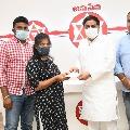 Pawan Kalyan donates one lakh rupees for a Janasena worker